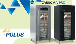 Новая линейка шкафов с системой контроля влажности CARBOMA PRO