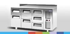 Холодильные столы POLAIR кубического дизайна теперь и с выдвижными ящиками!