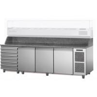 Стол Pizza TZ17/1MC (+ 1 xолодильные выдвижные ящики)