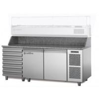 Стол Pizza TZ13/1MC (+ 1 xолодильные выдвижные ящики)