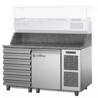 Стол Pizza TZ09/1MC (+ 1 xолодильные выдвижные ящики)